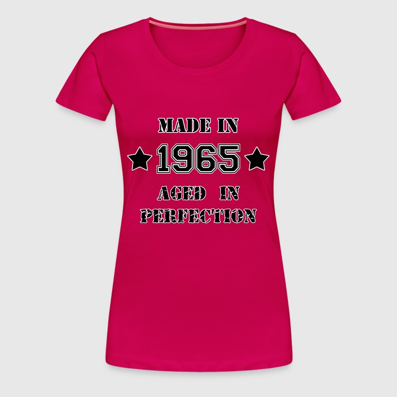Made in 1965 - T-shirt Premium Femme