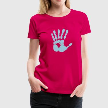 hand with 6 fingers - Camiseta premium mujer