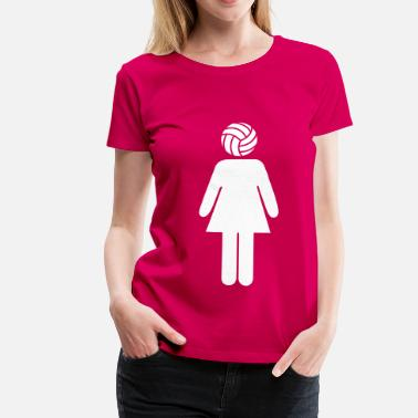 Volleyball Volleyball Woman - Camiseta premium mujer