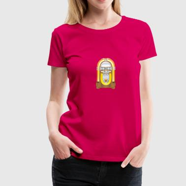 jukebox - Frauen Premium T-Shirt