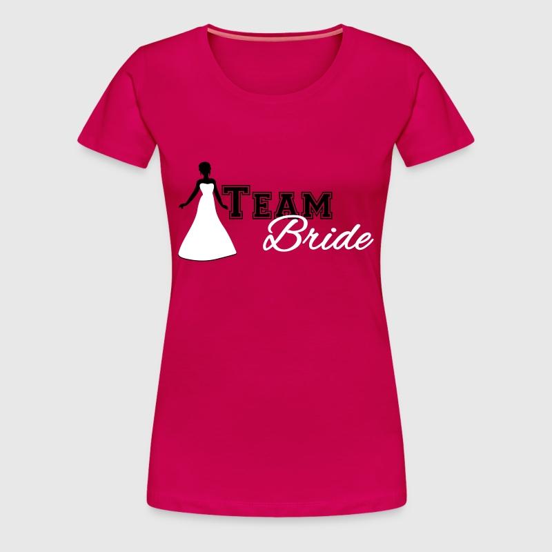 Team Bride - Vrouwen Premium T-shirt