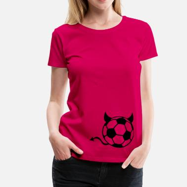 Devil Ball Soccer devil ball - Women's Premium T-Shirt