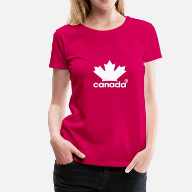 Canadian Proudly Canadian - Premium T-skjorte for kvinner