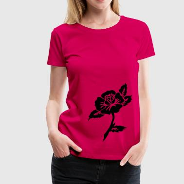 Gold Flex Tattoo rose vintage by Patjila - Women's Premium T-Shirt