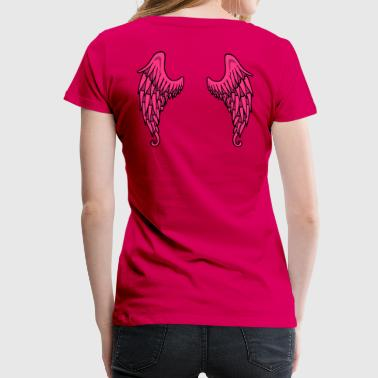 Angel Wings - Frauen Premium T-Shirt