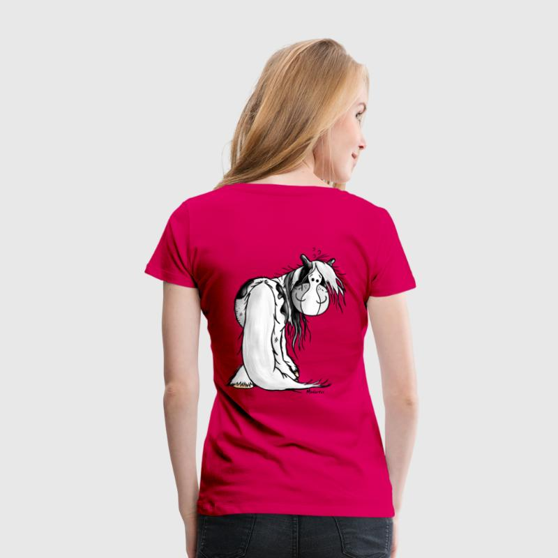 Irish Tinker Hest -  Irish Cob - Dame premium T-shirt