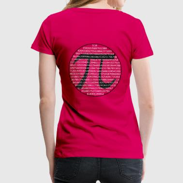 PI (SIGN) - Women's Premium T-Shirt