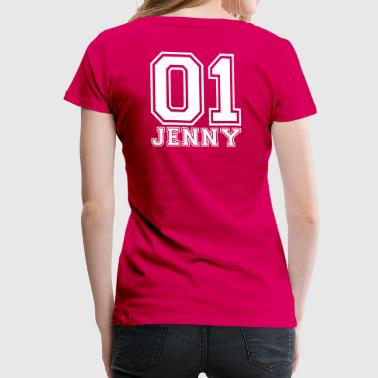 Jenny - Name - Women's Premium T-Shirt