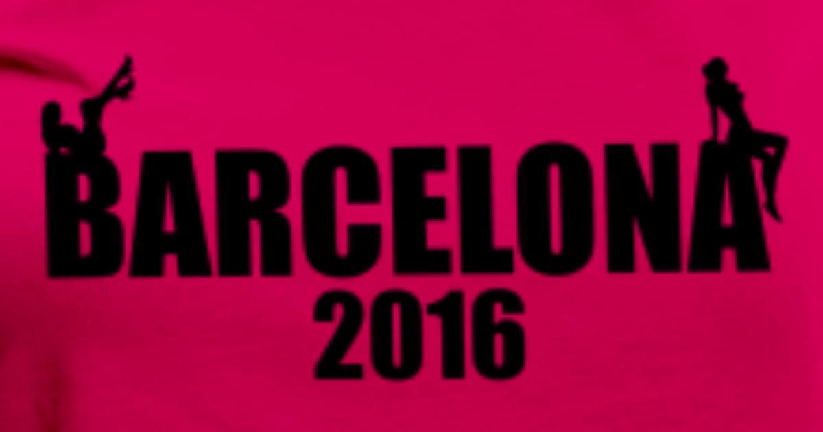 Barcelona 2016 Sexy girls Women's Premium T-Shirt   Spreadshirt