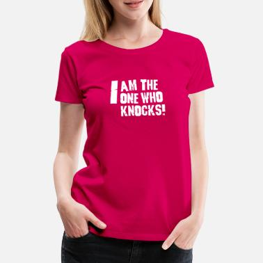 Tv I am the one who knocks - T-shirt premium Femme