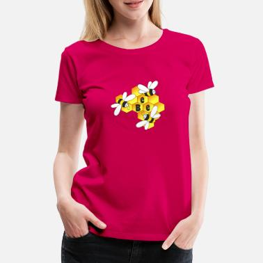 Honey Honey, bee, bees - Women's Premium T-Shirt