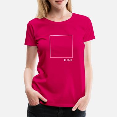 Box Think Outside The Box - Vrouwen premium T-shirt