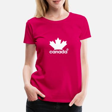 Canadian Proudly Canadian - Frauen Premium T-Shirt
