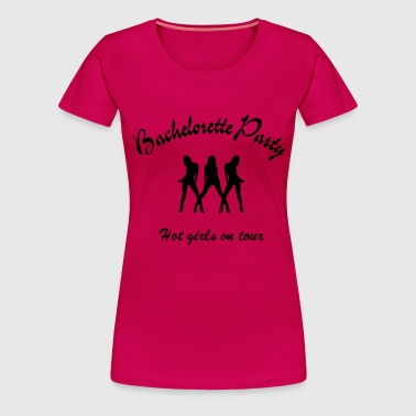 bachelorette party - Vrouwen Premium T-shirt