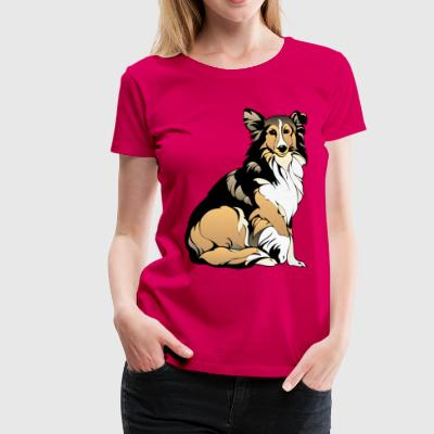 Collie - Frauen Premium T-Shirt