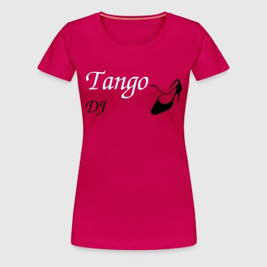 Argentine Tango - Women Dance Shoes - Design - Women's Premium T-Shirt