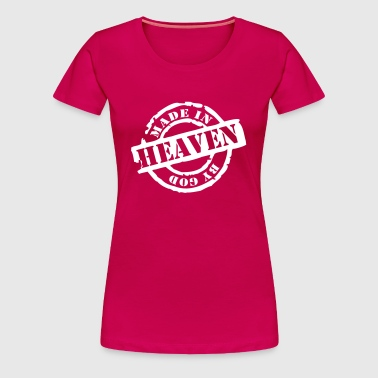 Made by God - Frauen Premium T-Shirt