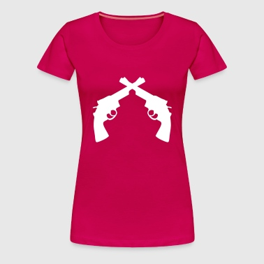 Gun turret gun Gun Weapon - Women's Premium T-Shirt