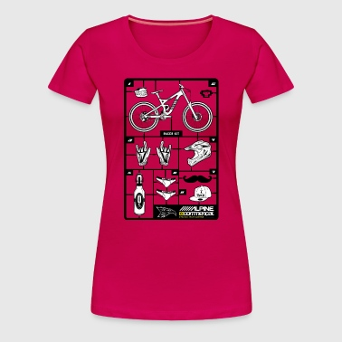 Downhill-Race-Kit - Frauen Premium T-Shirt