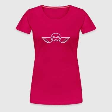 Skull with wings iI - T-shirt Premium Femme