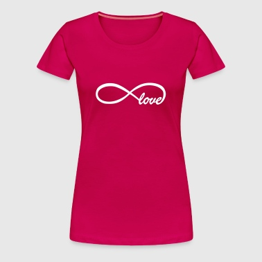 Endless love - Frauen Premium T-Shirt