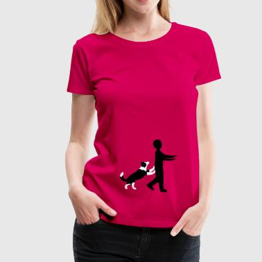 Dog Dancing 3-2 - Frauen Premium T-Shirt