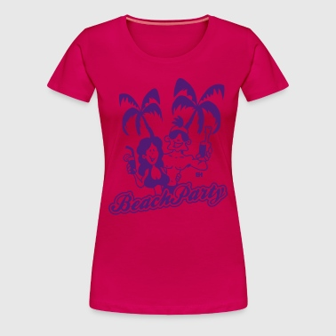 Beach Party - Premium-T-shirt dam