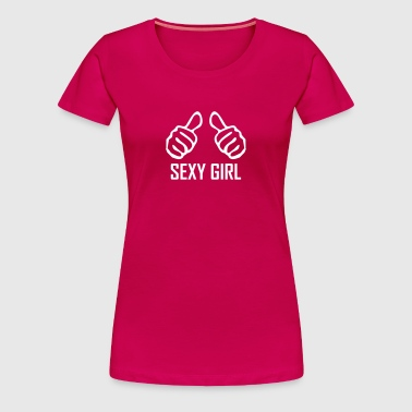 sexy girl - Frauen Premium T-Shirt
