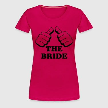 jga10_the_bride - Women's Premium T-Shirt