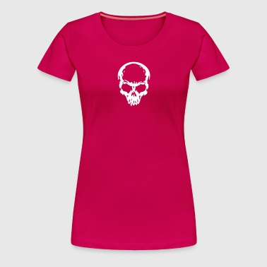 skull Headphone dj music - Vrouwen Premium T-shirt