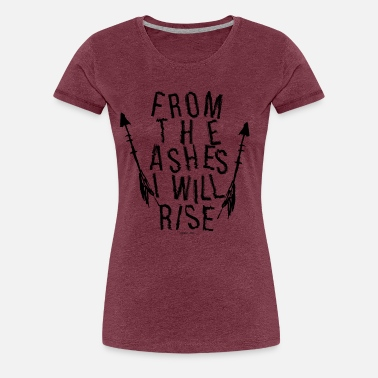 Asher From the Ashes - Frauen Premium T-Shirt