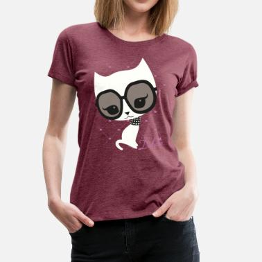 Cute Cats Officialbrands Pussy Deluxe Sunglasses  - Women's Premium T-Shirt