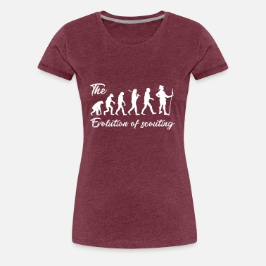 Scout Evolution of Scouting - Women's Premium T-Shirt