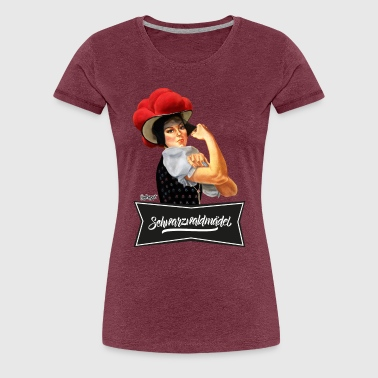 Schwarzwaldmädel - We Can Do It! - Frauen Premium T-Shirt