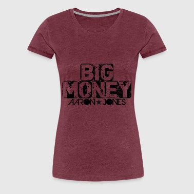 Aaron Big Money Aaron jones - Vrouwen Premium T-shirt