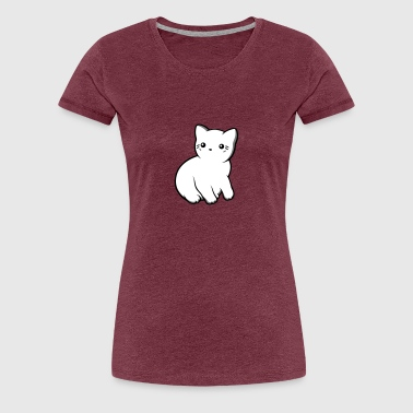 Opaque Kitten - Women's Premium T-Shirt
