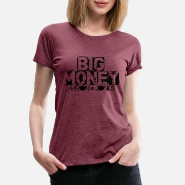 Aaron Big Money aaron jones - Premium T-shirt dame
