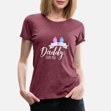 59820288d niño o niña bebé fiesta papá mujeres hombres - Camiseta premium mujer