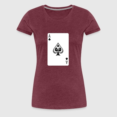 Ace Of Spades - Frauen Premium T-Shirt