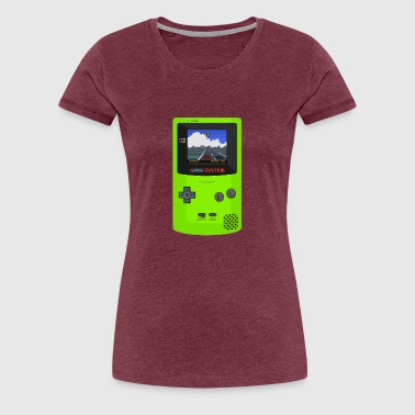 game boy - Frauen Premium T-Shirt
