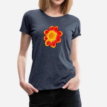 Flower Power Blumenkind Flower Power - Frauen Premium T-Shirt