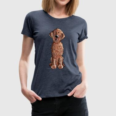 Funny Curly Coated Retriever - Dog - Gift - Women's Premium T-Shirt