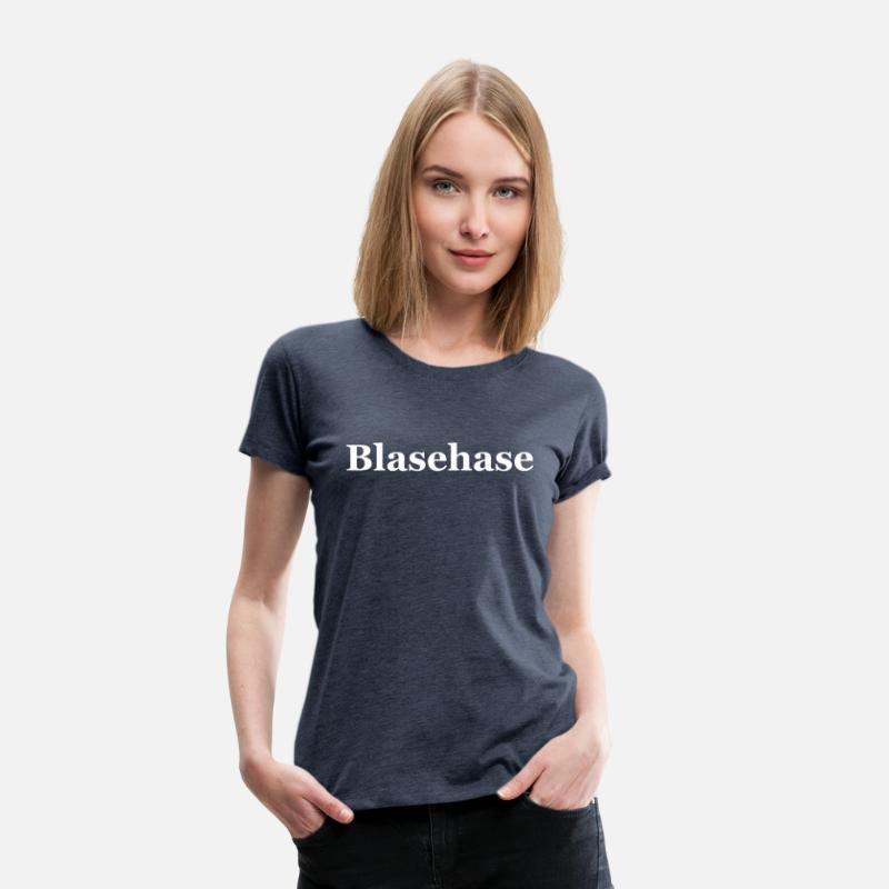 Stripper T-Shirts - Blasehase - Women's Premium T-Shirt heather blue