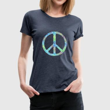 Peace - Frauen Premium T-Shirt