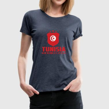 Tunisia Football Gift Fan World Cup - Women's Premium T-Shirt