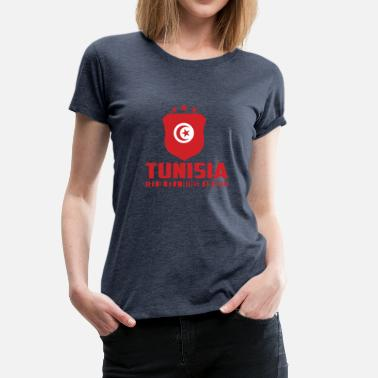 Tunisia Tunisia Football Gift Fan World Cup - Women's Premium T-Shirt