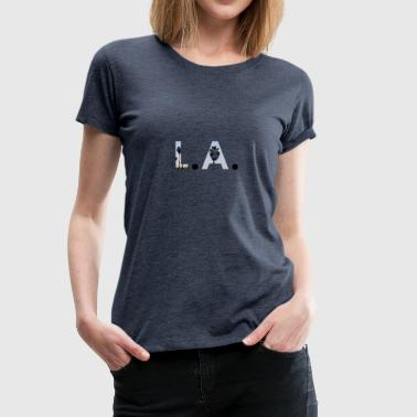 Los Angeles - Vrouwen Premium T-shirt
