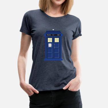 Doctor Who Tardis print Doctor Who - Women's Premium T-Shirt