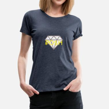Posh Posh Diamond - Frauen Premium T-Shirt
