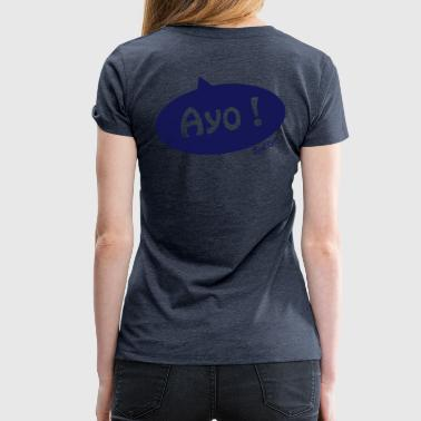La Réunion Ayo royal Kreol - Dame premium T-shirt